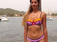 Heisse Strand Models mit geilen Titten