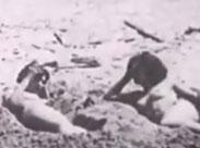 Nackt am Strand 1928