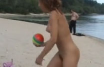 Geile Strand Schlampen gefilmt