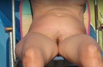 Am Nudisten Strand