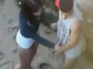 Junges Paar heimlich beim Sex gefilmt