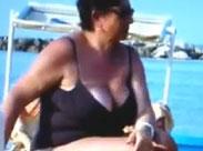 Dicke Omas mit grossen Brüsten