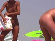 Ein Tag am FKK Strand