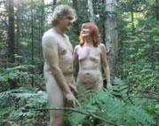 Rentner haben Sex im Wald