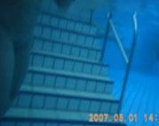 Spanner mit Unterwasser Cam