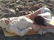 Frau heimlich beim Mundficken gefilmt